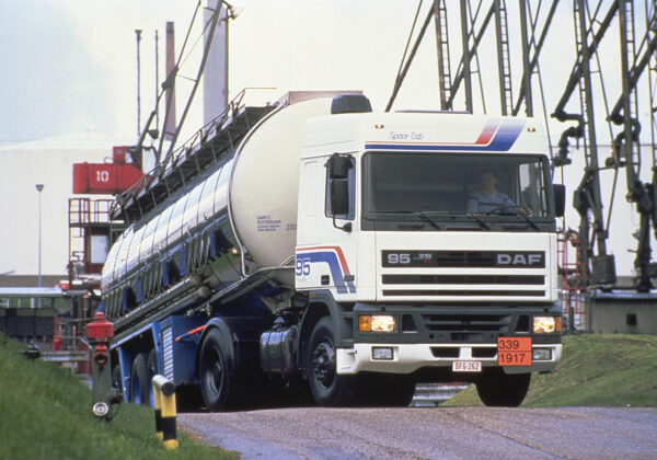 DAF 95 at launch in 1987