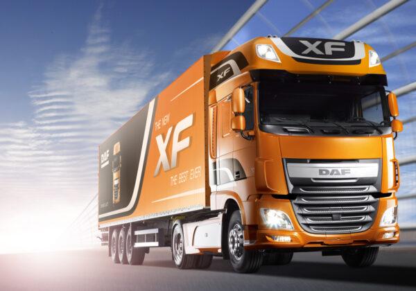 Euro 4 2012 DAF XF Announced