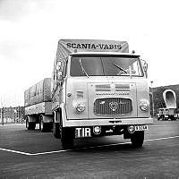 Scania LBS76 Forward Control Truck