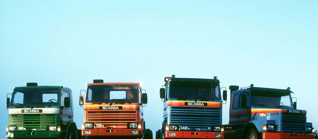 Scania GPRT Range from 1980 at Launch
