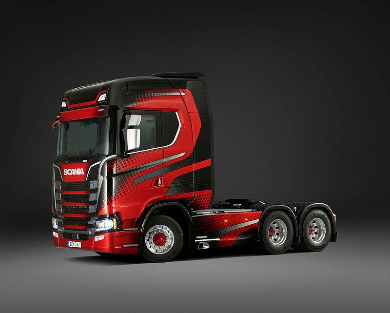 Scania 730 S V8 6x2