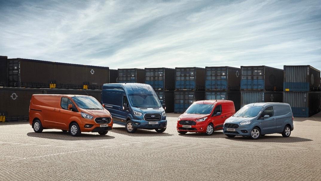 Ford Transit Panel Van Lineup