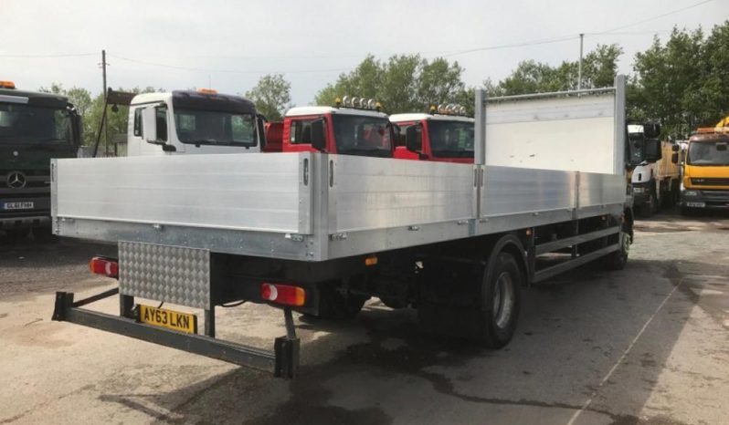 New alloy sides fitted to used dropside truck