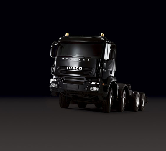 2007 model year Iveco Trakker 8x4