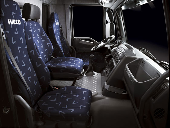 2007 model year Iveco Trakker Interior