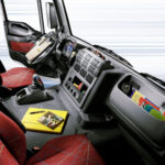 2007 model year Iveco Trakker Interior