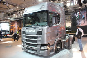 Scania Low Ride Tractor Unit
