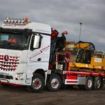 Mercedes Arocs 3246 Crane Truck