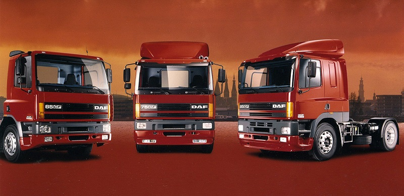 The 1998 Range of DAF CF will their all new engines for Euro 3