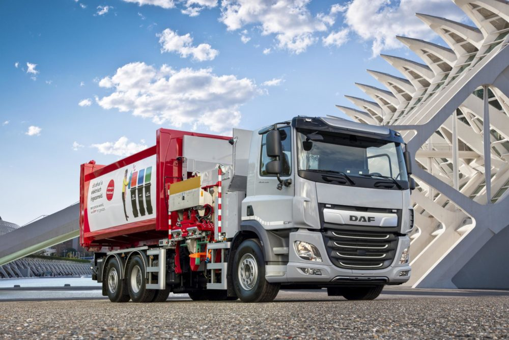 DAF CF Electric Refuse Truck