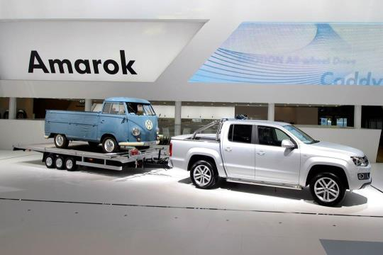 Amarok Towing Trailer