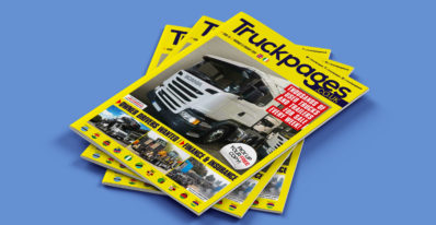 Truckpages Issue 16 cover