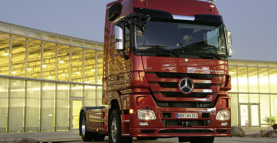 2007 Model Actros at Launch with Euro 4