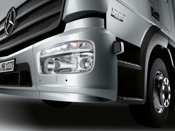 Mercedes Atego 1227 Close up detail