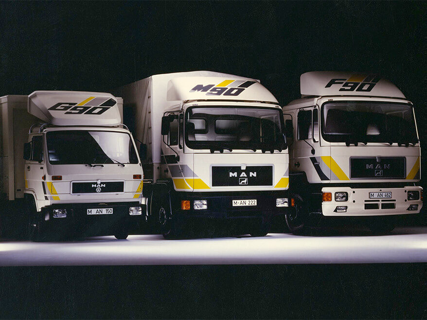 The MAN 'F M G' Series in the 1990s