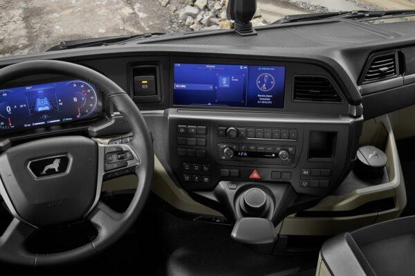 New MAN TGS 2020 model interior