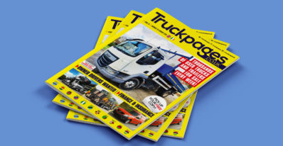 Truckpages Issue 18 cover