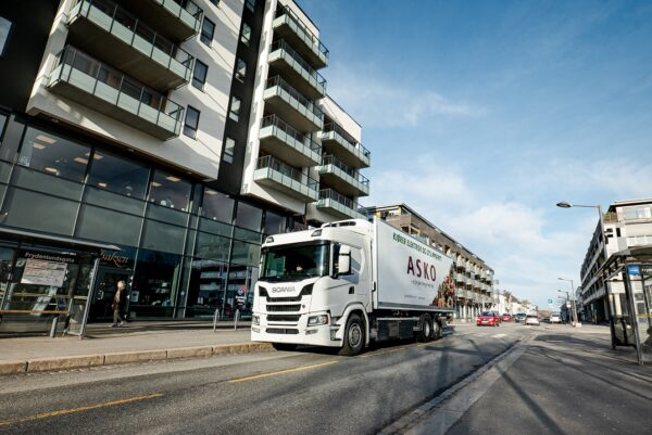 Scania G350 Electric Truck in Norway