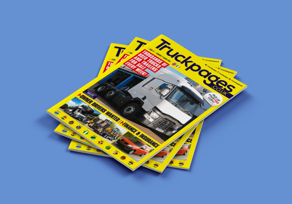 Truckpages Issue 21 cover