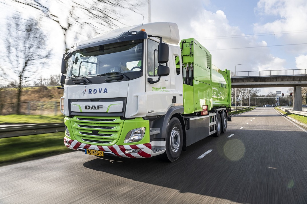 DAF CF Electric 6x2 refuse truck