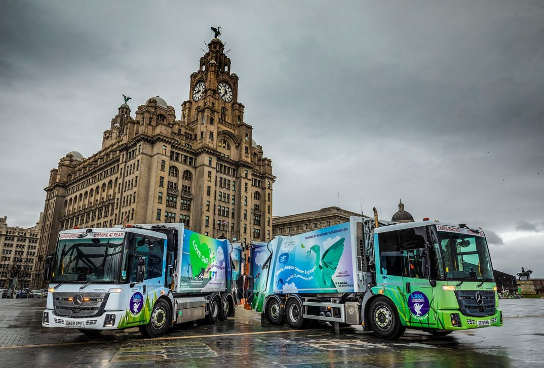 Liver Building - Mercedes Econic Refuse Trucks