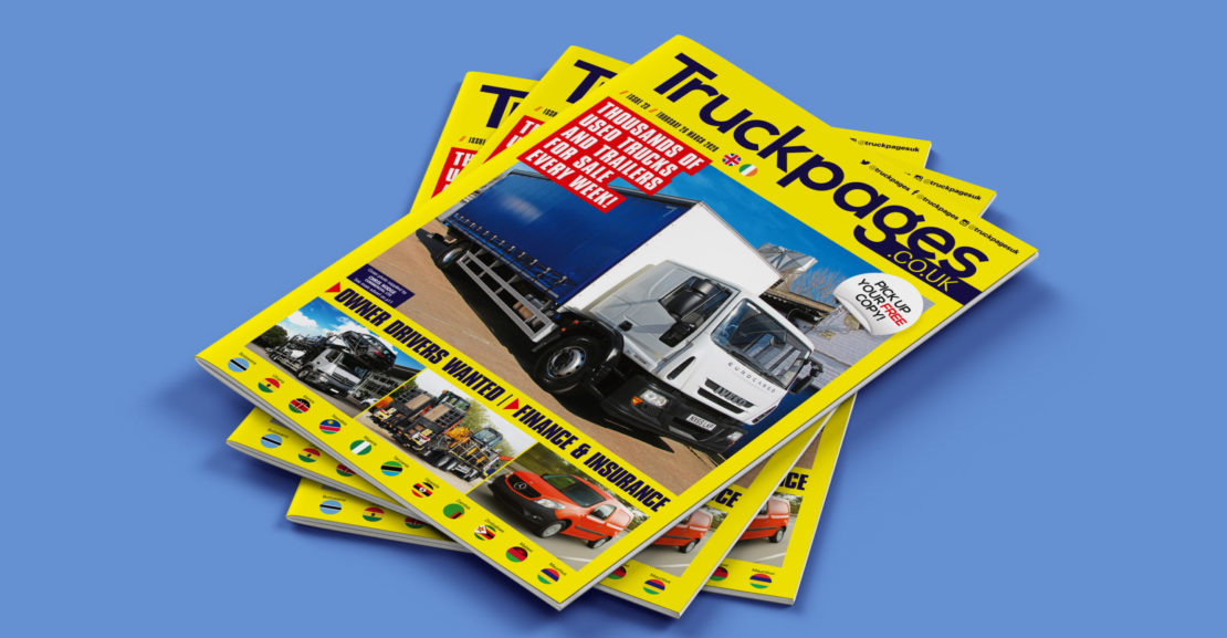 Truckpages Issue 22 cover