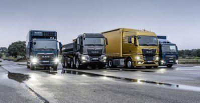 The new generation of MAN trucks TGL, TGS, TGX and TGM