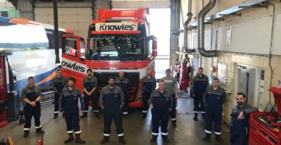 The Volvo Truck & Bus East Anglia Technicians