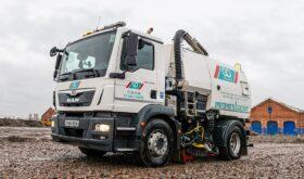 Go Plant Fleet Services new MAN TGM 18.250 Sweeper