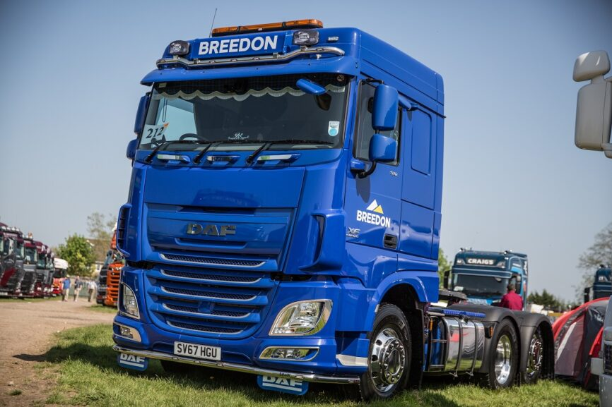 Previous DAF Driver magazine show truck winner