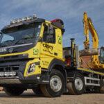 Volvo FMX Crane and beavertail