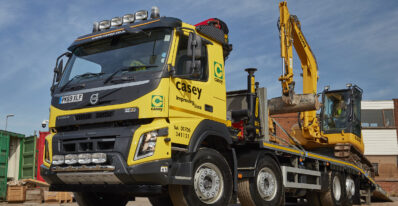 Volvo FMX Crane and beavertail