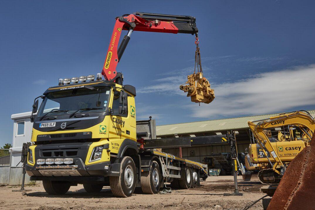 Volvo FMX 460 plant lorry
