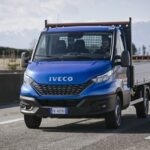 2020 Model Year Iveco Daily Dropside on move