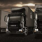 Iveco Euerocargo in All Black Livery