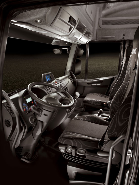 Insude the MY 2008 Iveco Eurocargo