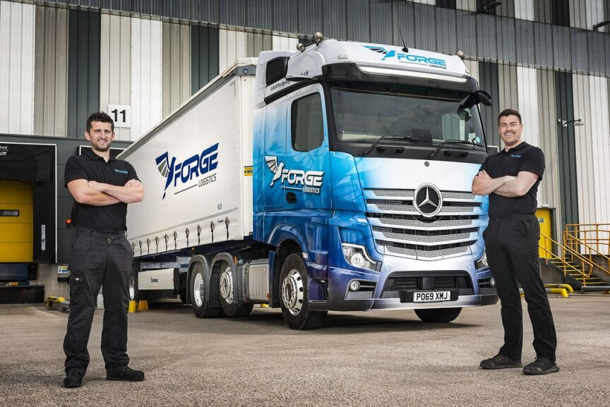 Mercedes Actros - Forge Logistics