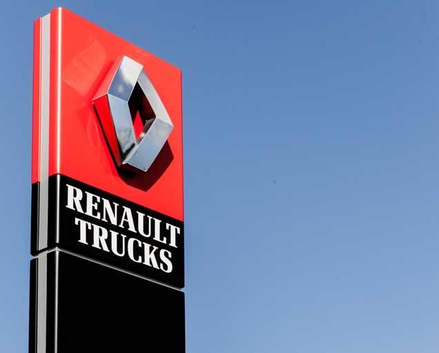 Renault Trucks Logo sign