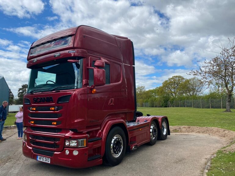 Scania R520 Used