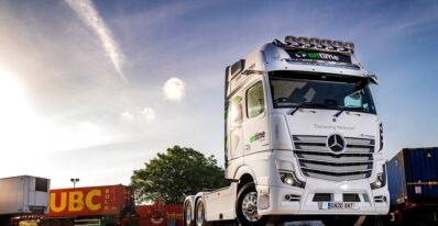 Mercedes Actros 2663 Ontime Logistics