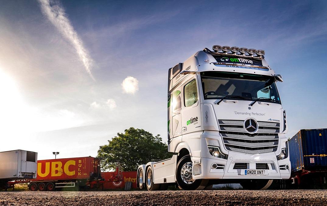 Mercedes Actros 2663 Ontime Logistics