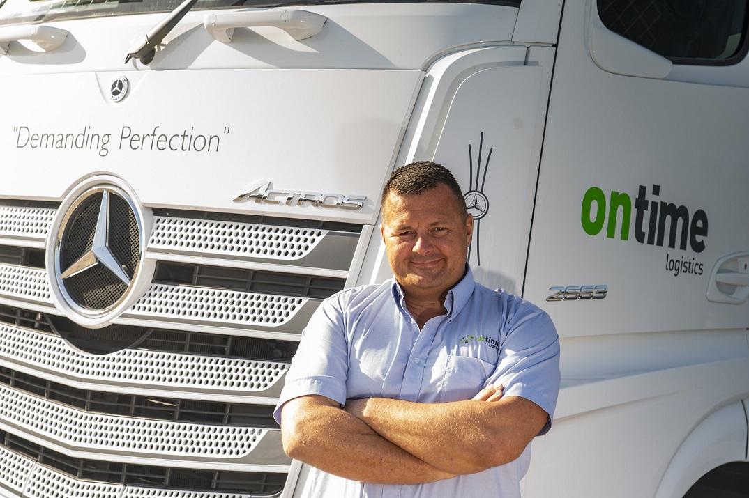 Wayne Barber Ontime Logistics