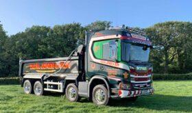 Scania G500 XT Tipper