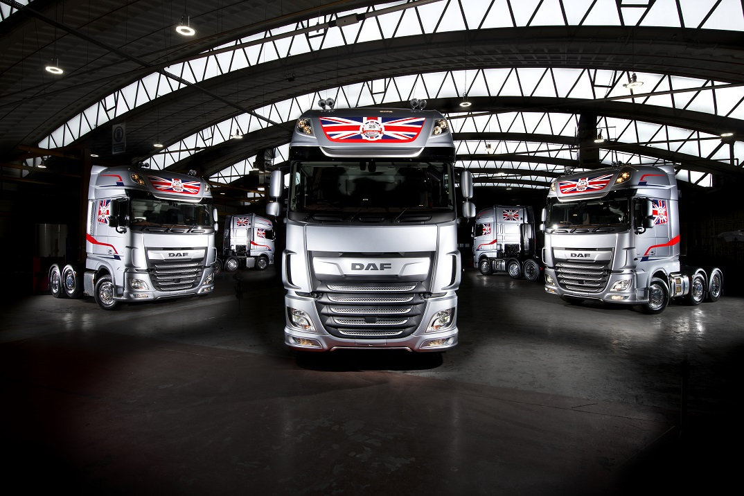 DAF Pure Excellence XF Demonstrators