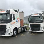 Premier Logistics is excited by the fuel saving potential of its new Volvo trucks