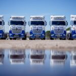 Tony M Rees Fleet of Mercedes Tractor Units