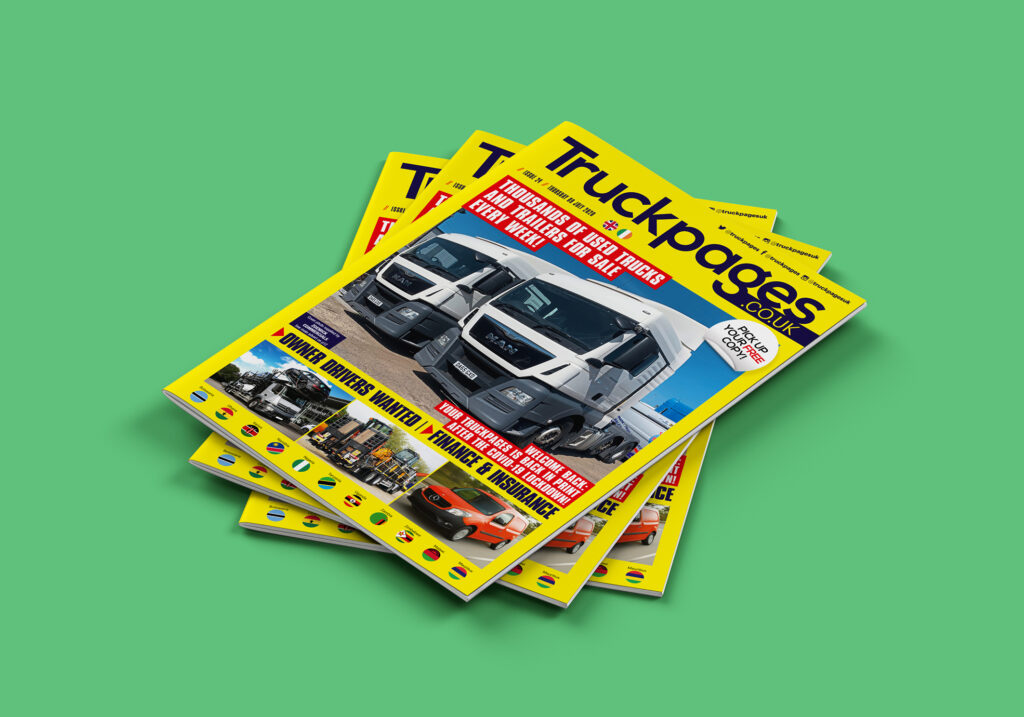Truckpages Issue 24 cover pic