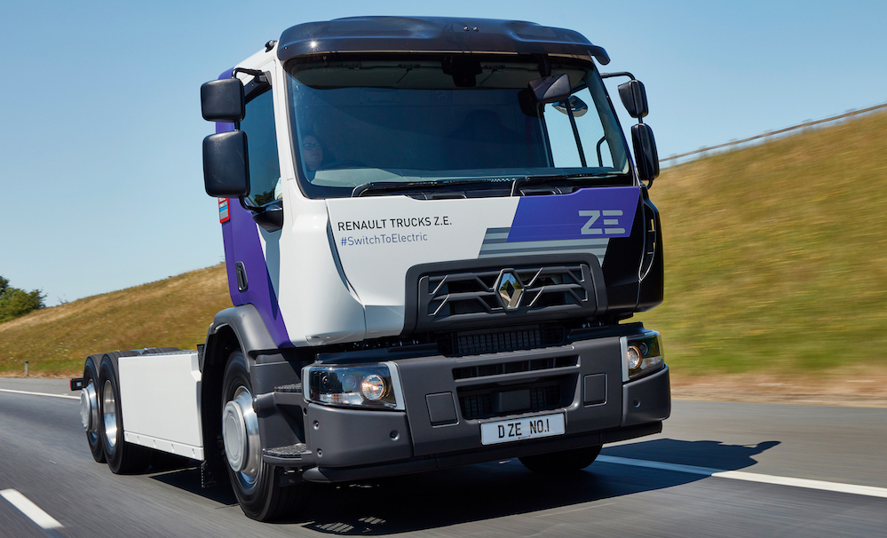 Renault Electric 6x2 D Wide Truck