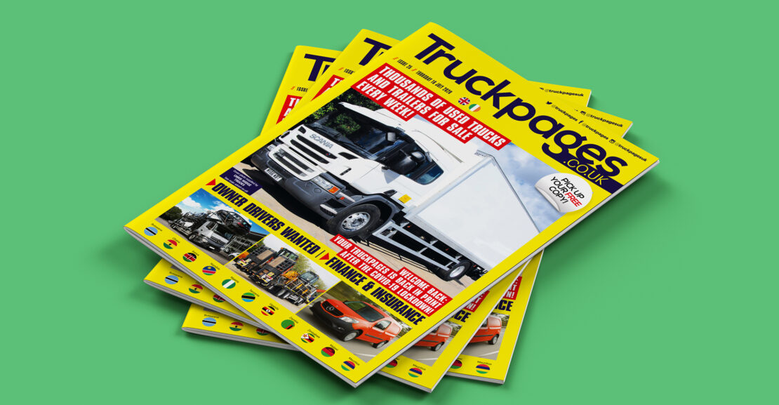 Truckpages Issue 25 cover
