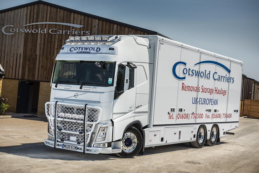 The hi-spec FH rigid is the latest Volvo to join Cotswold Carriers' fleet
